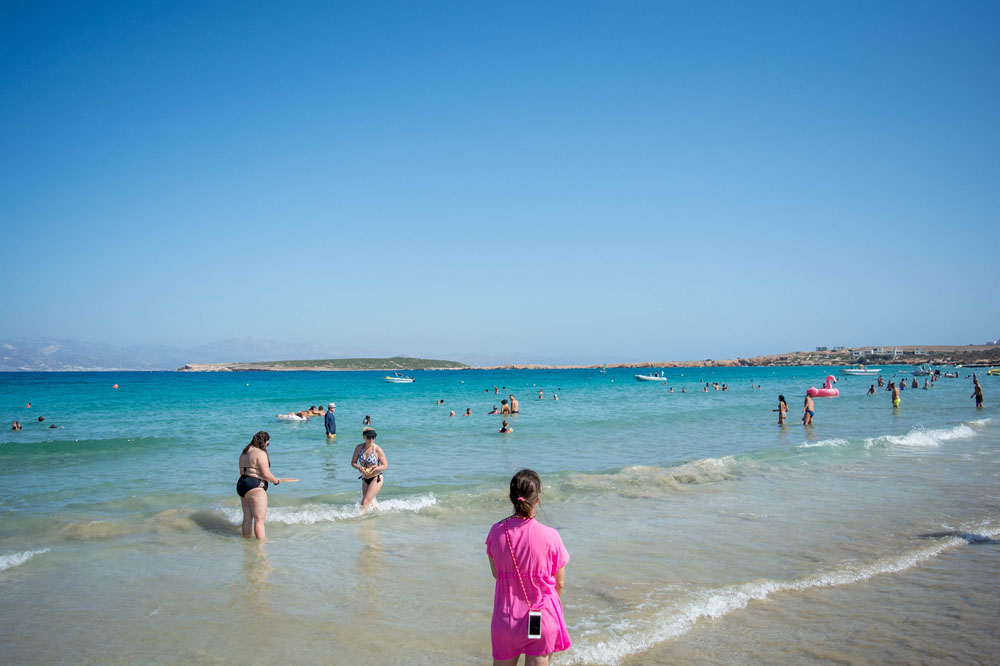 Beaches near Naoussa Paros