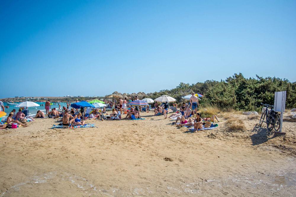Paros Beach Bars